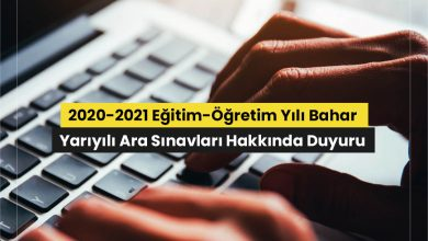 2021 AUZEF Bahar Dönemi Arasınavları Çevrimiçi Yapacak
